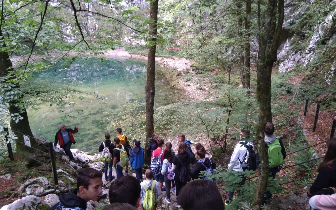 Tehniški dan devetošolcev po severni Primorski in Gorenjski