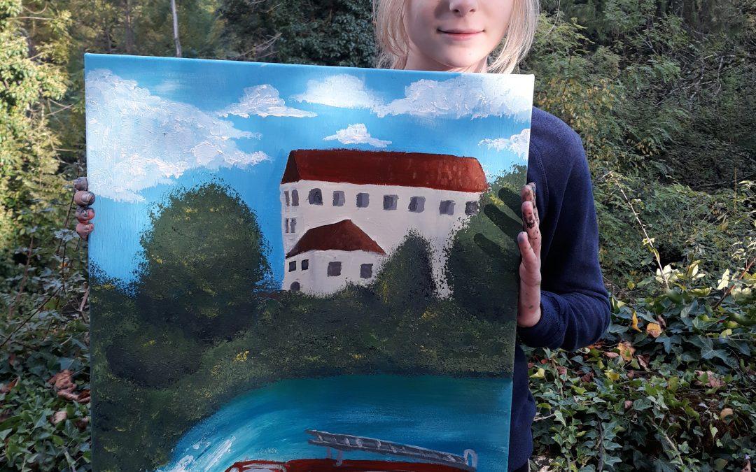38. slikarski extempore mladih likovnikov Bele krajine
