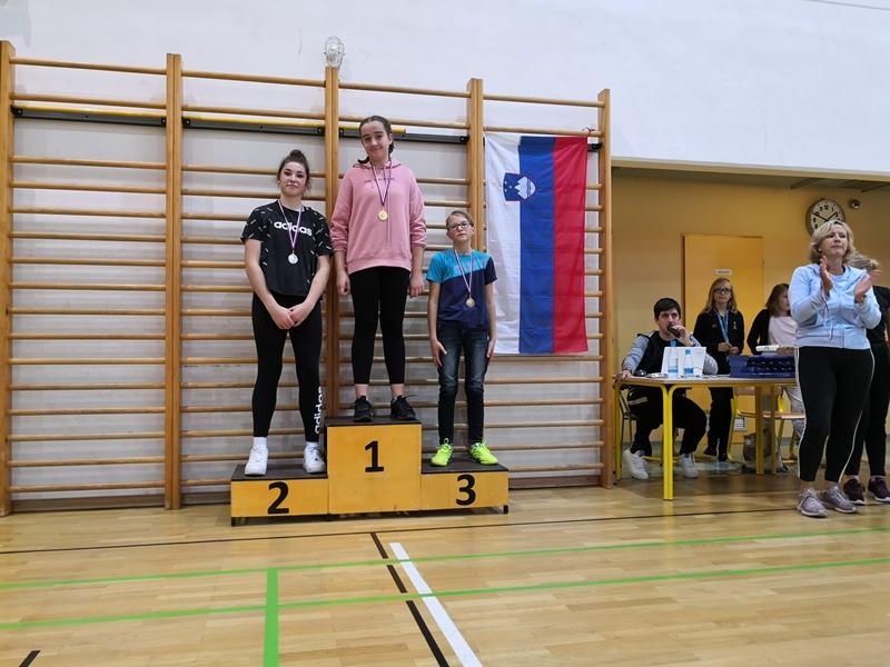 Področno tekmovanje v badbintonu – 1. in 3. mesto