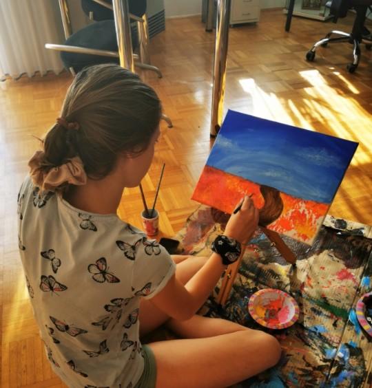 Špela Imširović: Želi si, da bi od risanja lahko živela