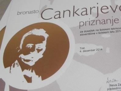 Tekmovanje za Cankarjevo priznanje